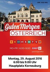 Guten Morgen Österreich - Live aus Korneuburg@Rathaus Café-Bar