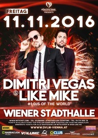 Electric Love Festival presents: Dimitri Vegas & Like Mike