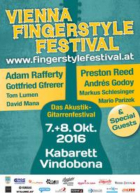 7. Vienna Fingerstyle Festival  - Das Akustik-Gitarrenfestival