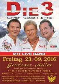 Die 3 - Korner, Klement & Frei@Goldener Adler