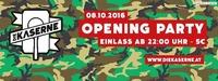 Die Kaserne - Opening Party 8.10.2016