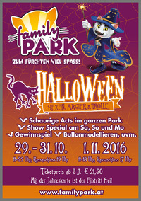 Halloween im Familypark@Familypark