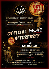 HALLOWEEN PARTY - The VIBE / Mu:Sick