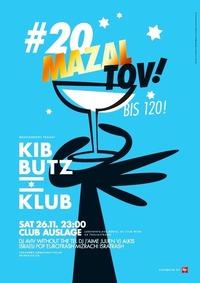 KIBBUTZ KLUB #20 - Mazal tov!