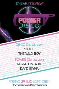 POWER DISCO ß Sneak Preview!