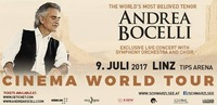 Andrea Bocelli - Cinema World Tour - Linz