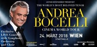 Andrea Bocelli - Cinema World Tour - Wien