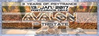 3 YEARS of PSYTRANCE mit AVALON