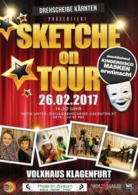 Sketche on Tour - Drehscheibe Kärnten@Volxhaus - Klagenfurt