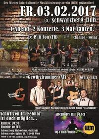 1 Abend - 2 Konzerte - 3 mal Tanzen!
