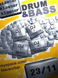 Drum & Bass @ Klausur