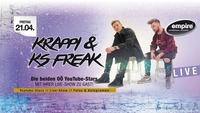 Krappi & KS FREAK live@Empire St. Martin