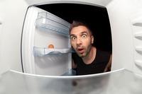 Austrinken! Der Kühlschrank muss leer werden