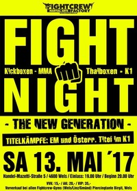 Fight Night  The new generation @Sportmittelschule wels