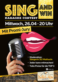 Karaoke Contest - mit Promi Jury