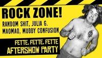 ROCK ZONE: Random Shit / Julia G. / MaoMao / Muddy Confusion