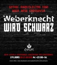 Weberknecht wird schwarz (Gothic EBM 80er NDW Crossover)