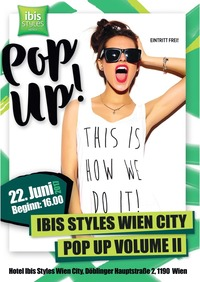 Ibis Styles Wien City Pop Up Volume II@Hotel Ibis Styles Wien City
