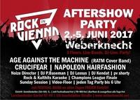 Rock In Vienna Aftershow   2.-5. Juni Weberknecht