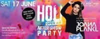 Holi Aftershow mit Resident DJANE & Playmate JOANA Plankl