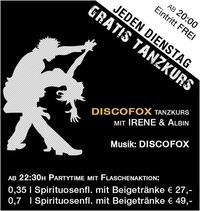 Jeden Dienstag – Tanzkurs Discofox