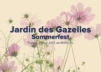 Jardin des Gazelles Sommerfest