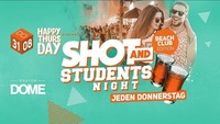 Happy Thursday Shot & Students Night