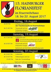 Florianifest Hainburg@Feuerwehhaus