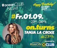 ocean CLUB NIGHT mit DJane Tanja La Croix im ocean park PlusCity
