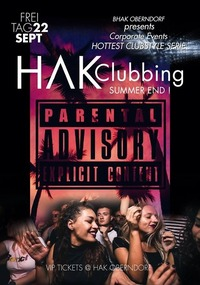 Hak Clubbing // Summer END