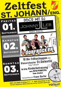 DORFROCKER beim Zeltfest der FF St.Johann/Eng.