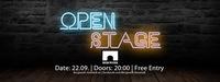 Open Stage w/ Random Encounters | Bergwerk