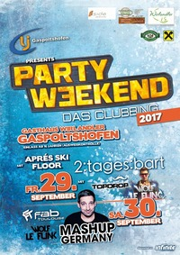 Party Weekend 2017 - Das Clubbing