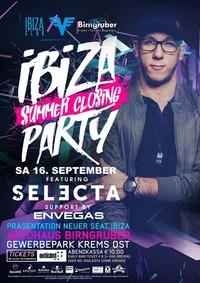 IBIZA ★ Summer Closing ★ PARTY feat. DJ Selecta