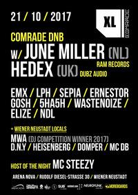 COMRADE XL - ARENA NOVA w/ JUNE MILLER, HEDEX and many more..