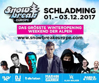 Snow Break Europe mit Martin Garrix, Alan Walker & Alle Farben