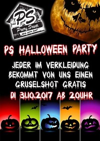 PS Halloween Party
