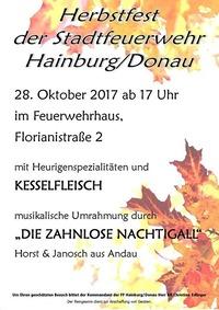 Herbstfest FFW Hainburg