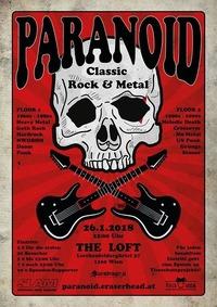 Paranoid - Viennas biggest ClassicRock & Metal Party on 2 Floors