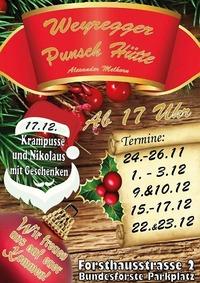 Weyregger Punsch Hütte 2017