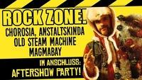 ROCK ZONE: Chorosia, Anstaltskinda, Old Steam Machine, Magmabay