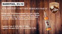 4th Advent- Captain Morgan Party