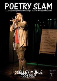 Poetry Slam in der Cselley Mühle