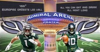 Superbowl Party der Danube Dragons in der Admiral Arena@Admiral Arena Prater