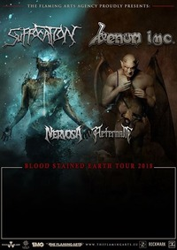 Suffocation / Venom Inc / Nervosa / Aeternam