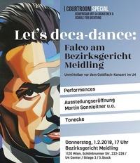 Let's deca-dance - Falco am Bezirksgericht Meidling