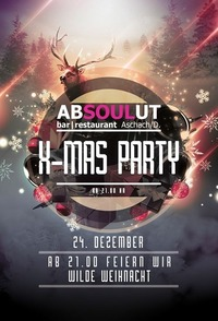 X-MAS PARTY ab 2100@Absoulut