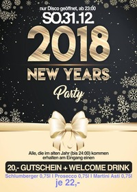 2018 New Years Party