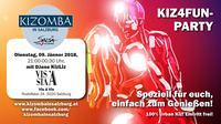 kiz4fun - die Kizomba Party in Salzburg@Vis A Vis