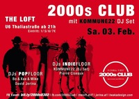 2000s Club mit KOMMUNE22 DJ-Set!@The Loft